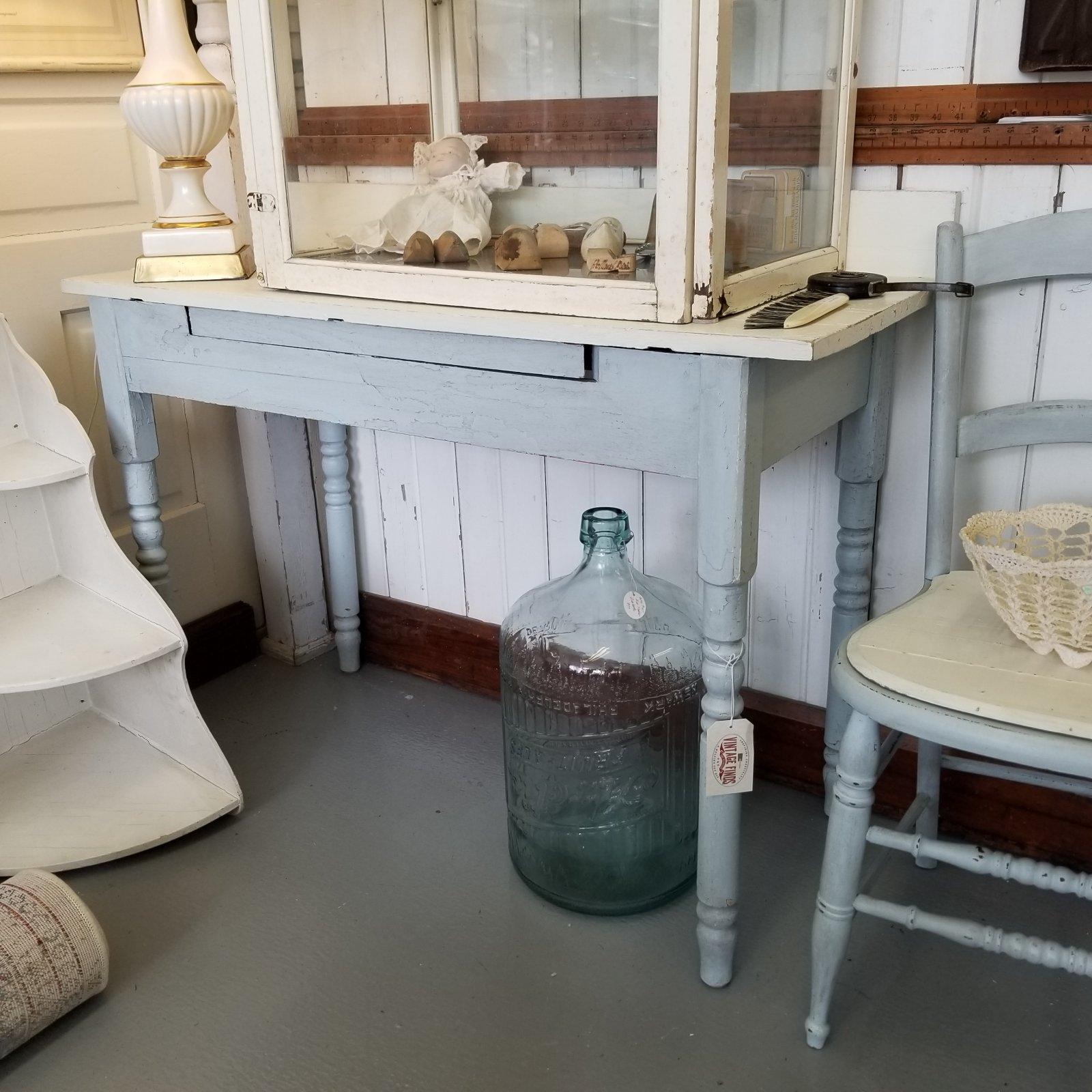 Blue & Cream Modified Table Desk