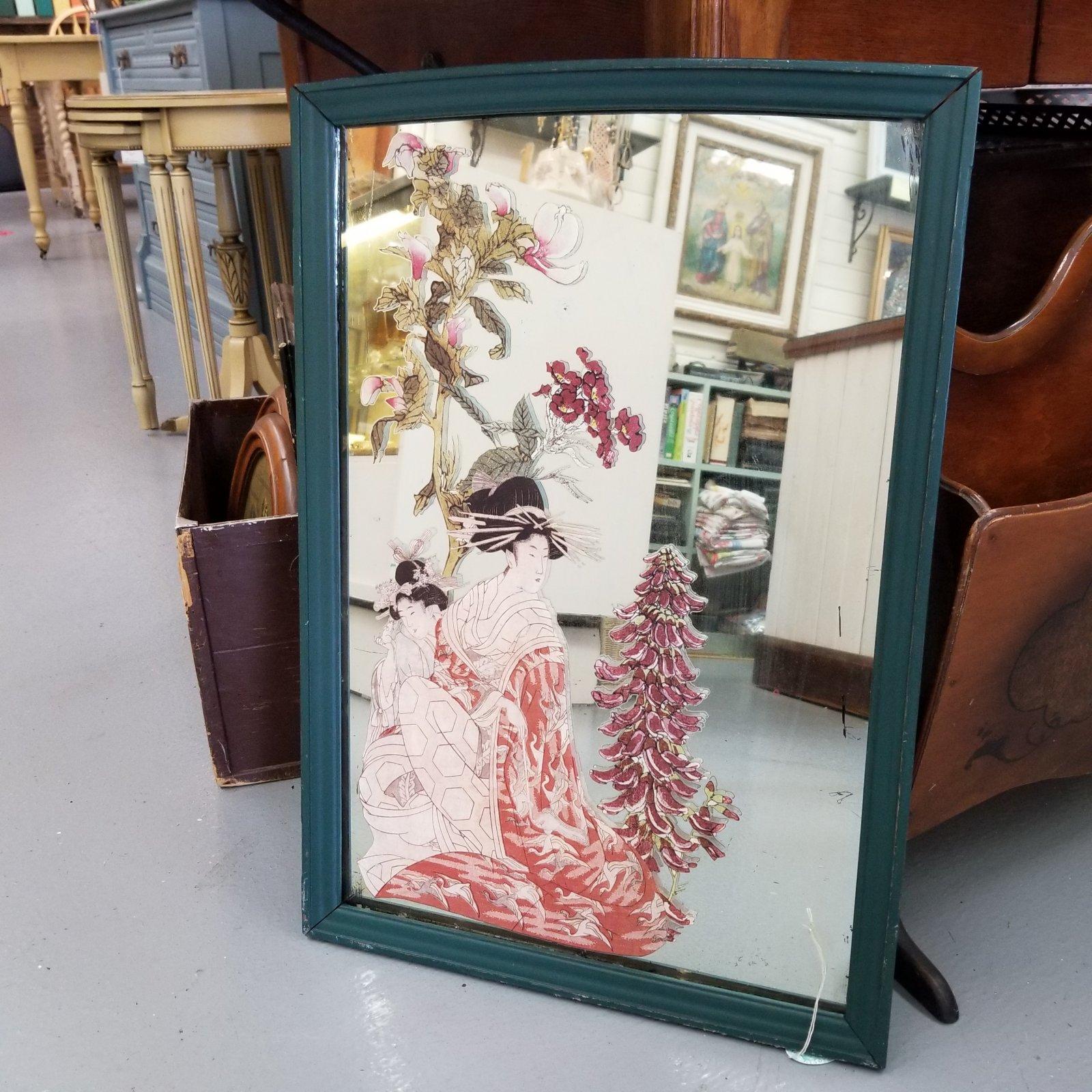 Japanese Ladies on Renfrew Mirror