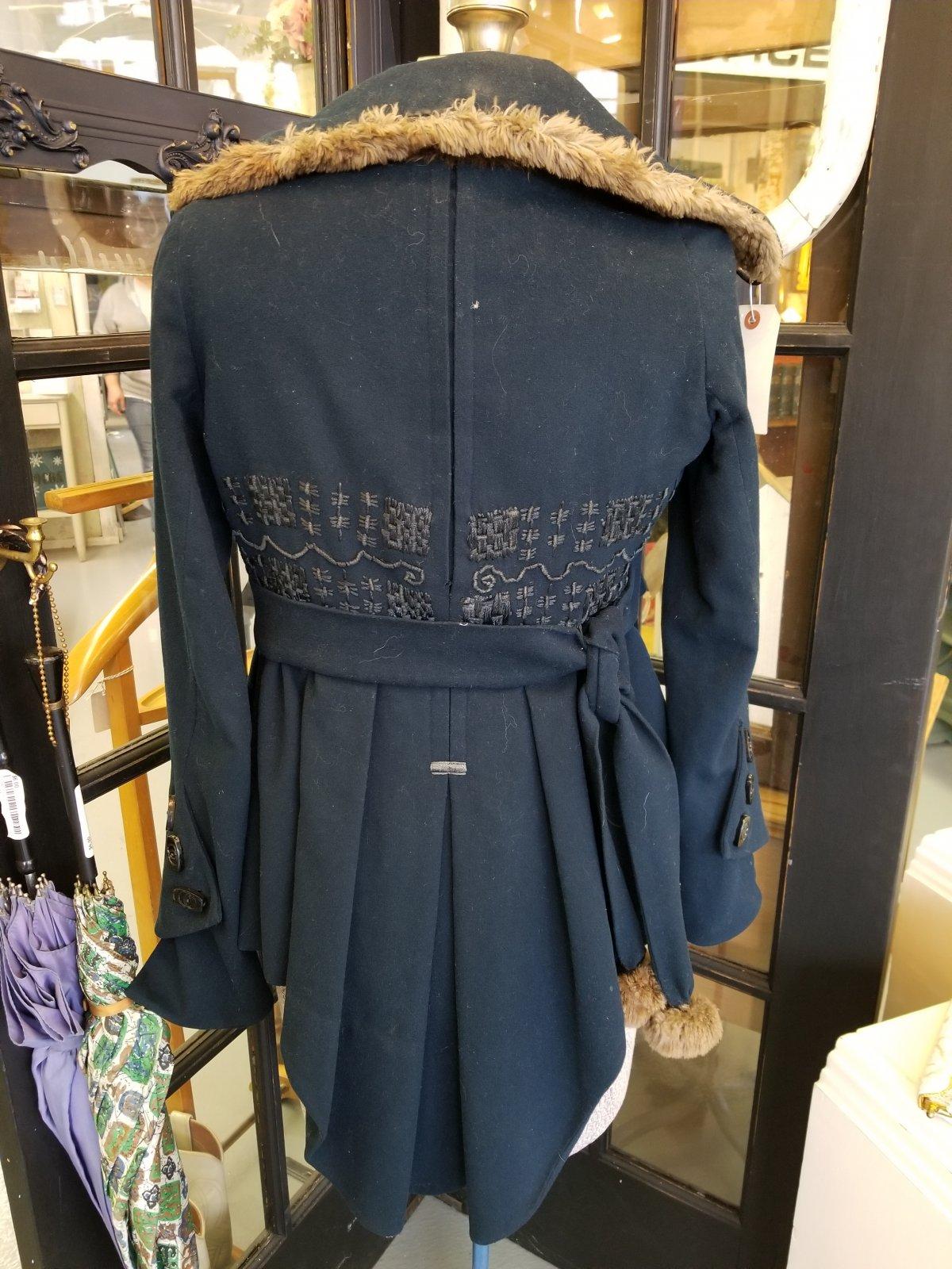 Victorian Blue Coat