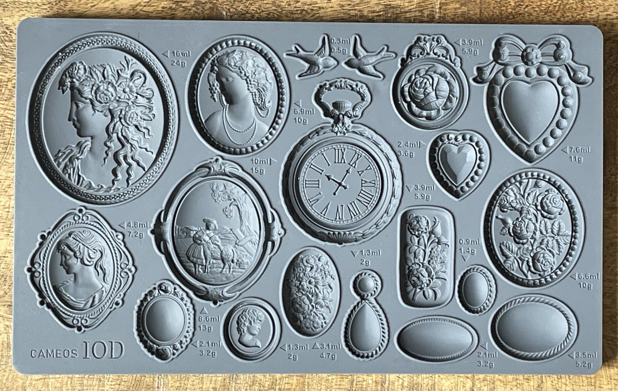 Cameos 6x10 IOD Mould
