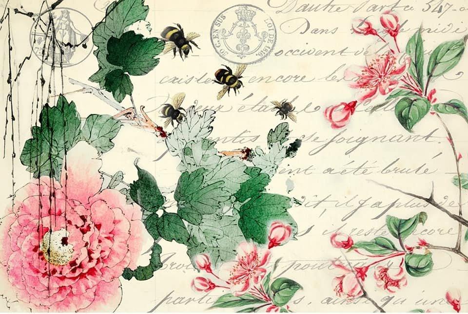 Cherry Blossom 20x30 Roycycled Decoupage Paper