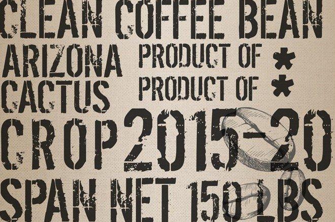 Coffee Sack 20x30 Roycycled Decoupage Paper