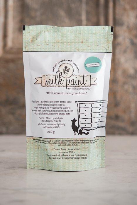 Eulali's Sky Miss Mustard Seed Milk Paint 1 Qt
