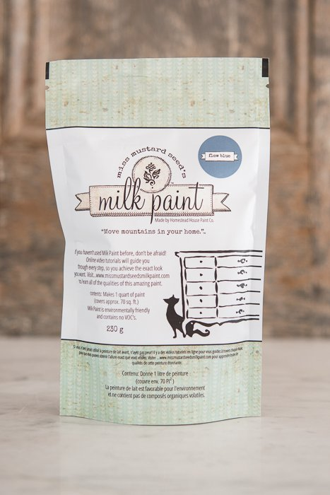 Flow Blue Miss Mustard Seed Blue Milk Paint 1 Qt