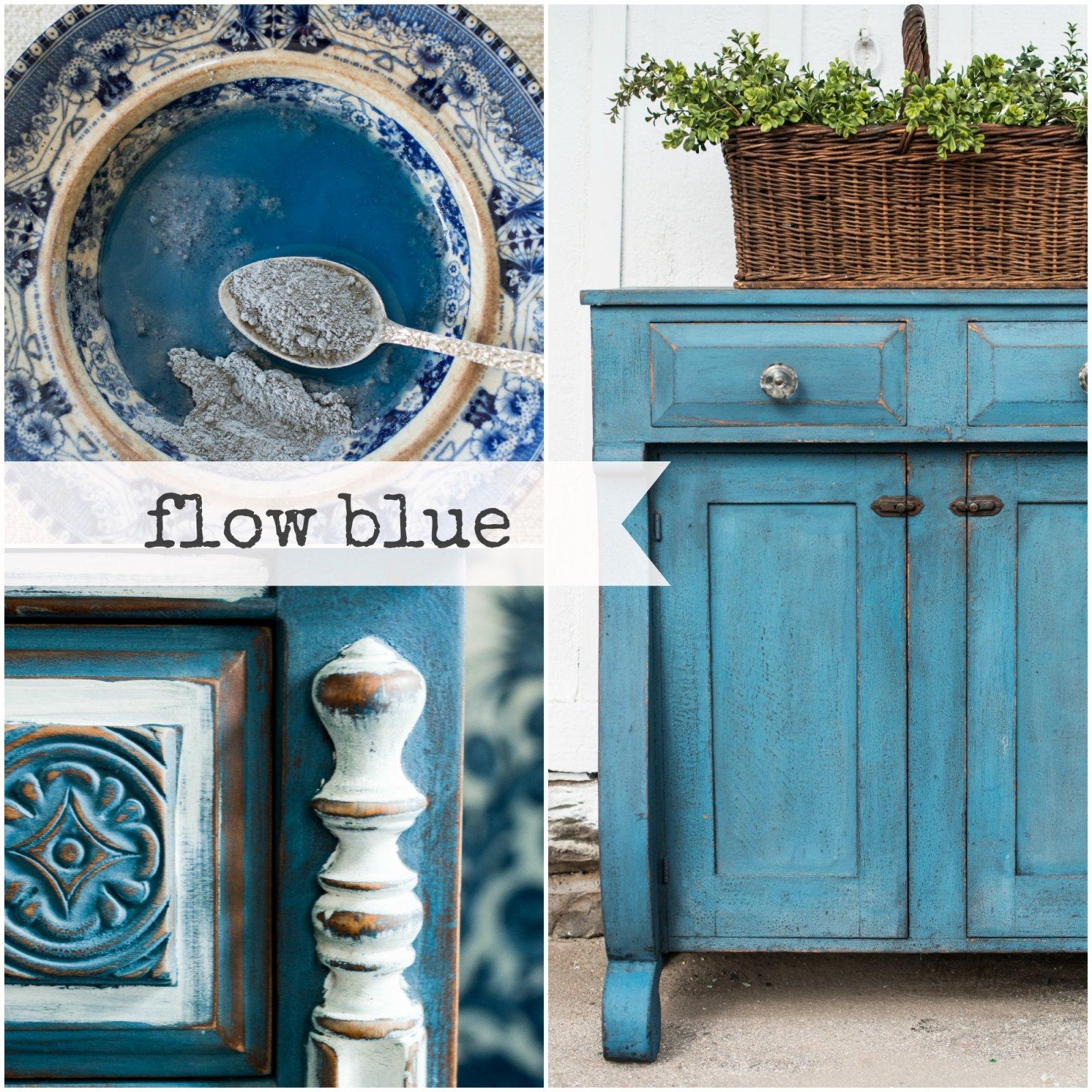 Flow Blue Miss Mustard Seed Blue Milk Paint 2 Qt