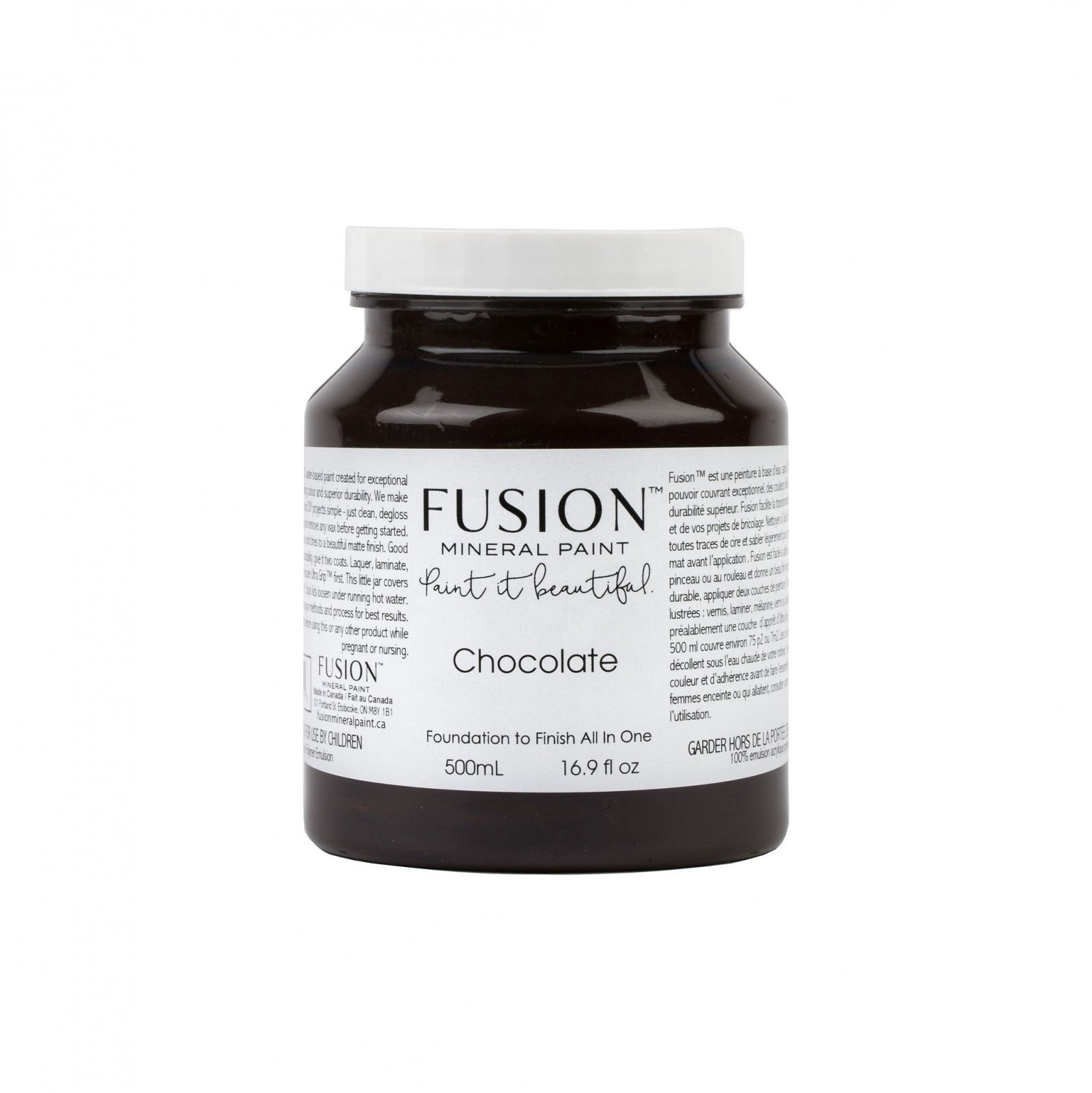 Chocolate Pint Fusion Mineral Paint