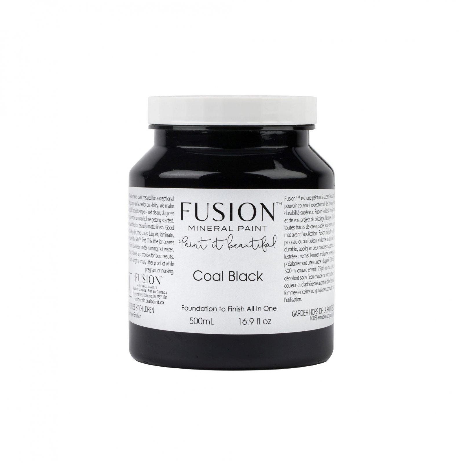 Coal Black Pint Fusion Mineral Paint