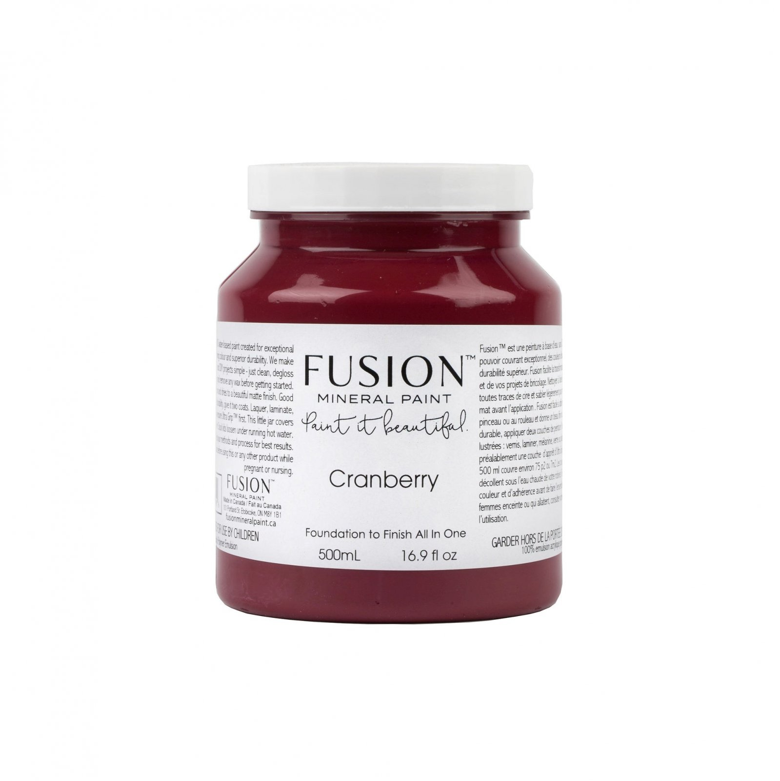 Cranberry Pint Fusion Mineral Paint