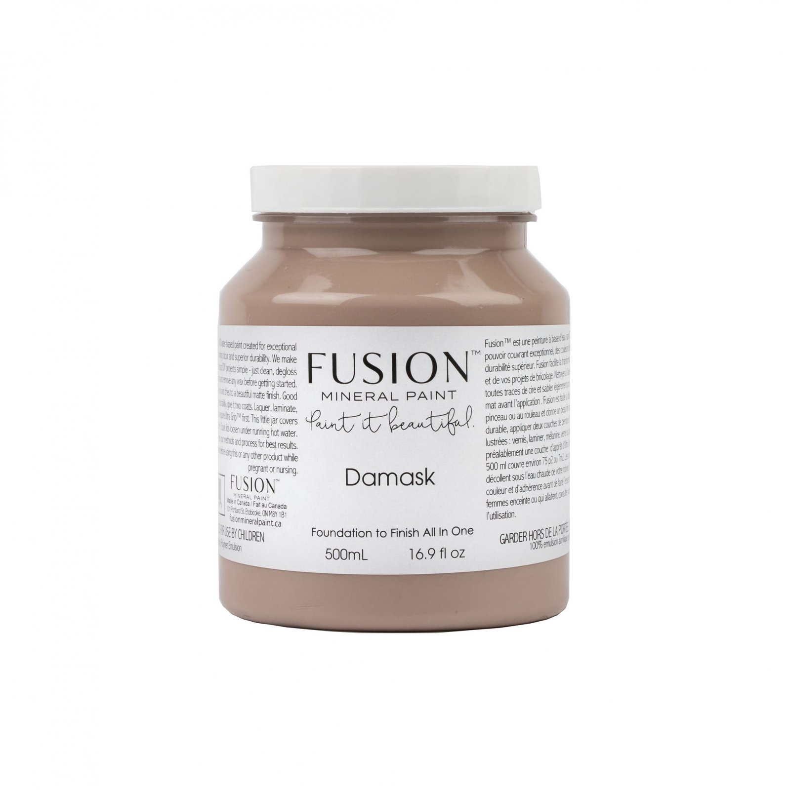 Damask Pint Fusion Mineral Paint