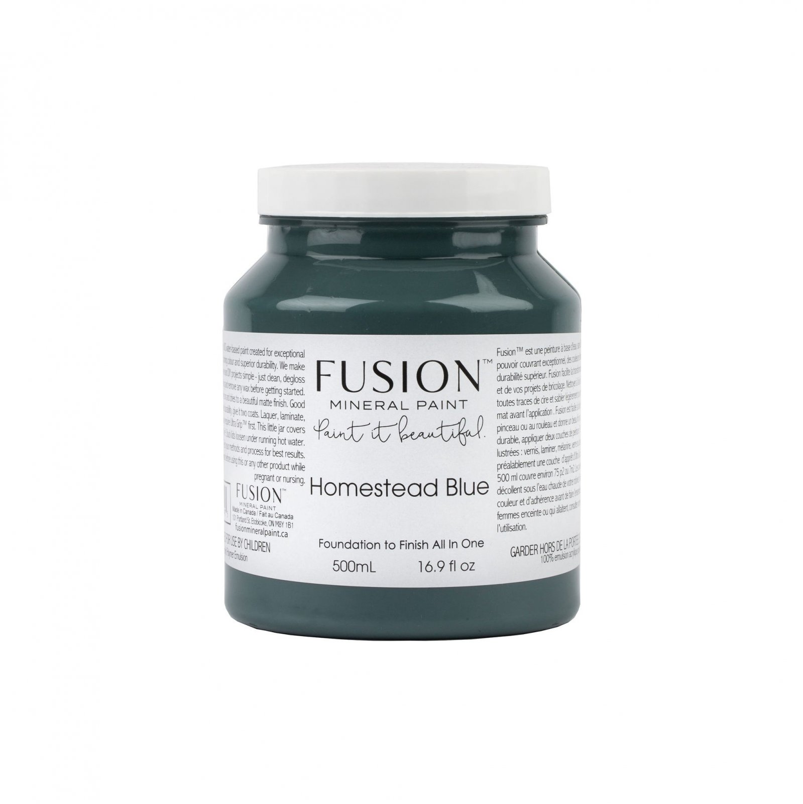 Homestead Blue Pint Fusion Mineral Paint