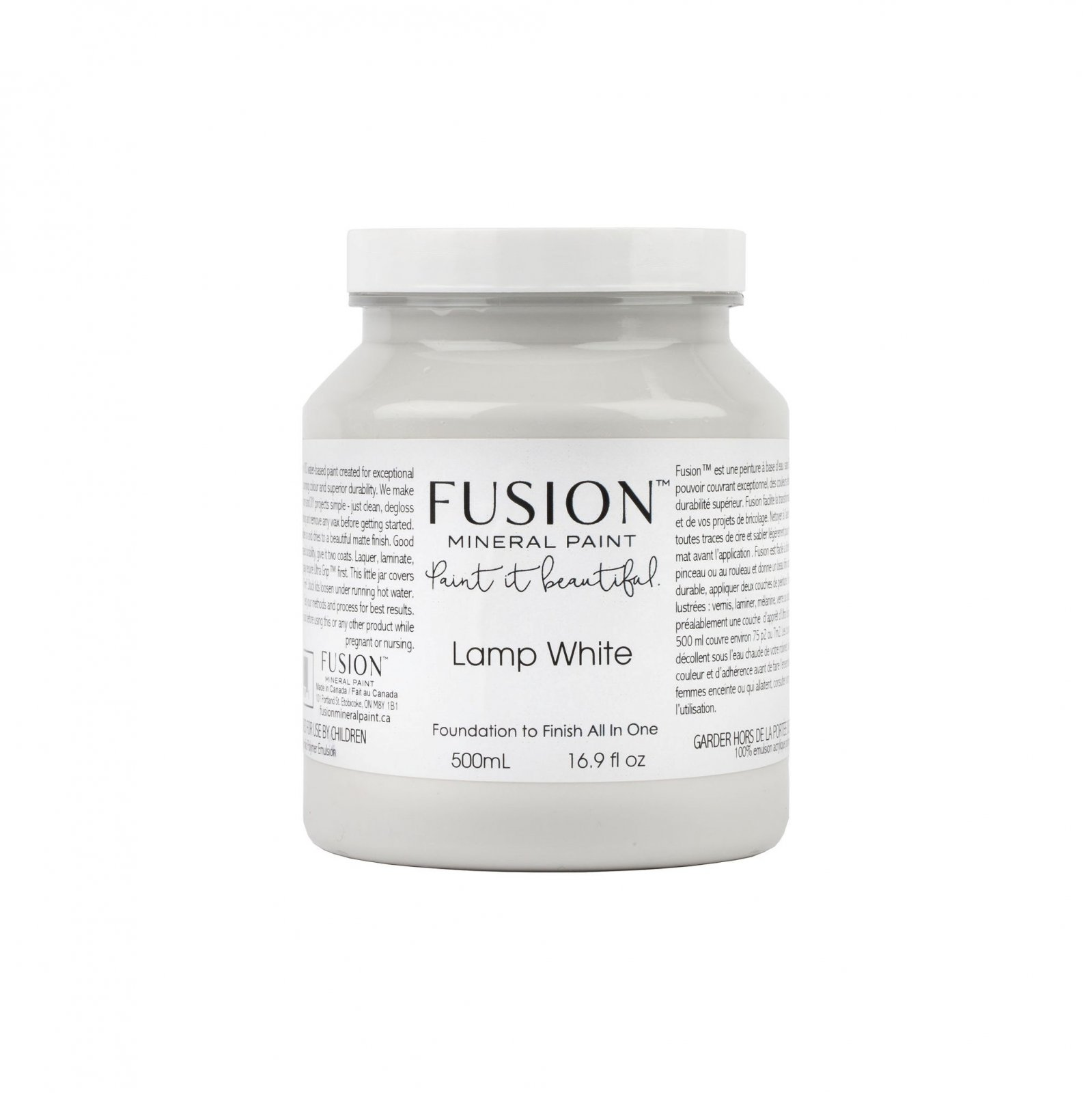 Lamp White Pint Fusion Mineral Paint