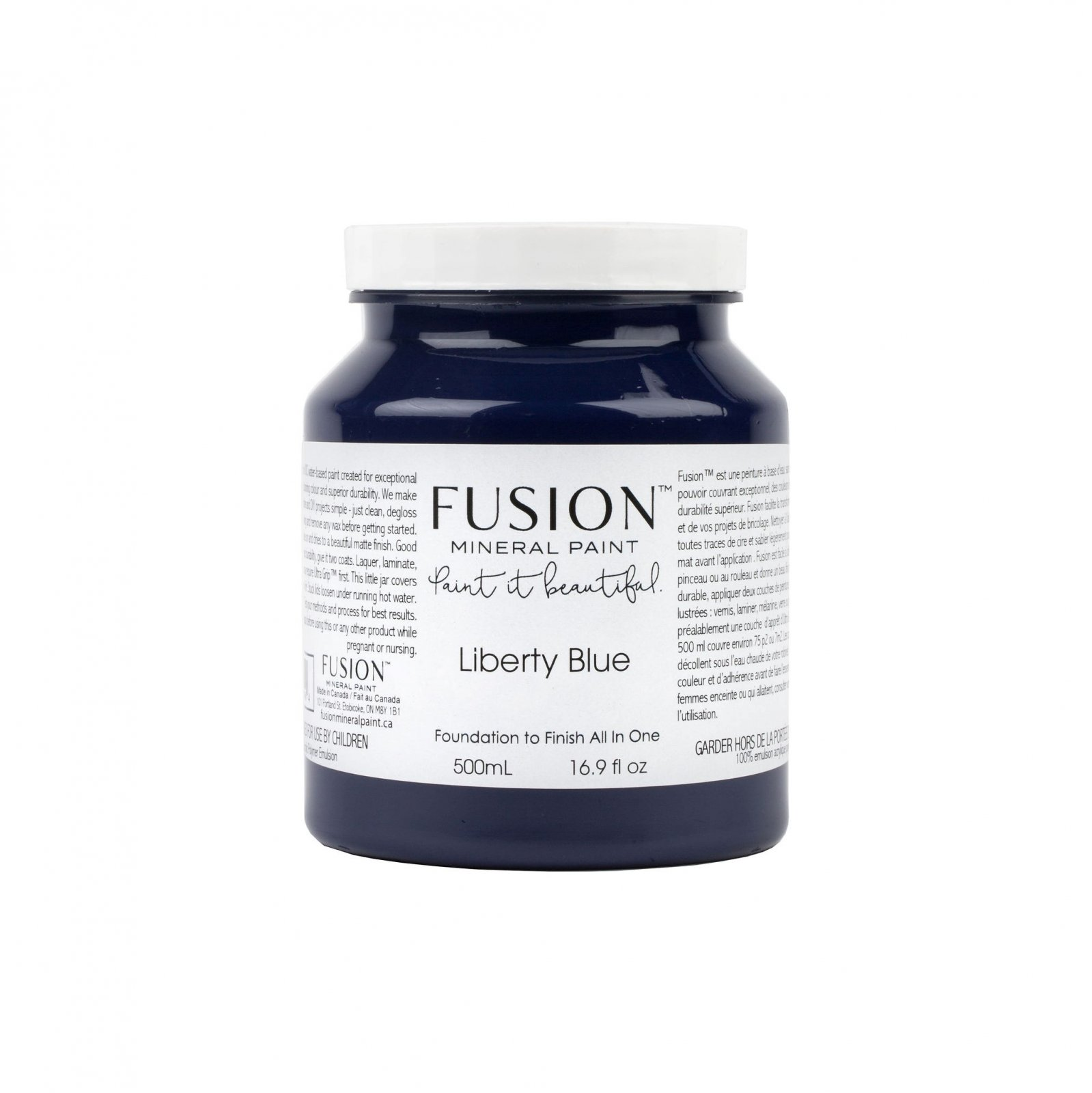 Liberty Blue Pint Fusion Mineral Paint