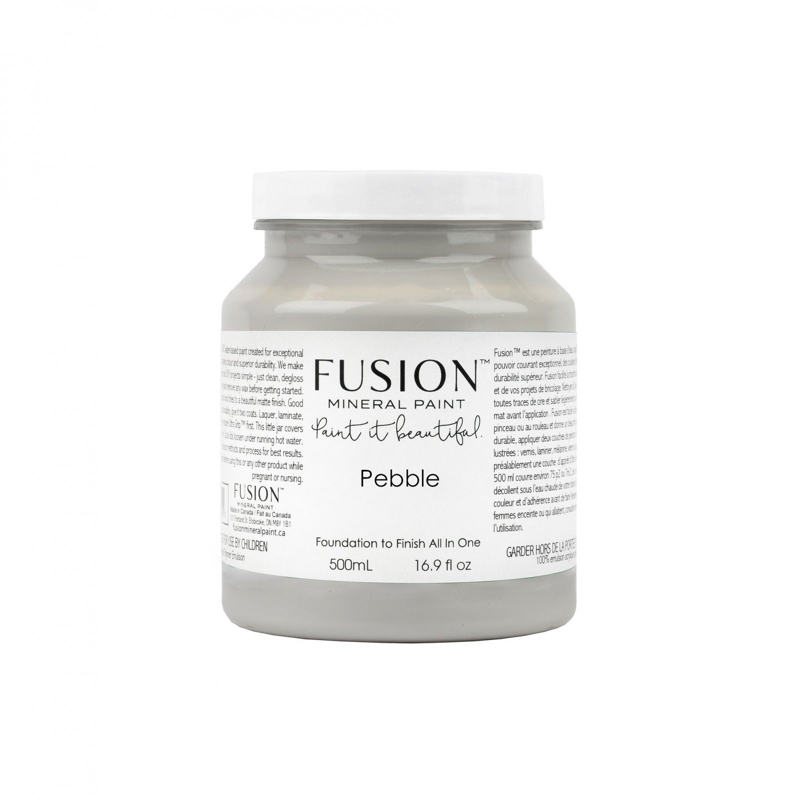Pebble Pint - Penney Co. & Collection Fusion Mineral Paint