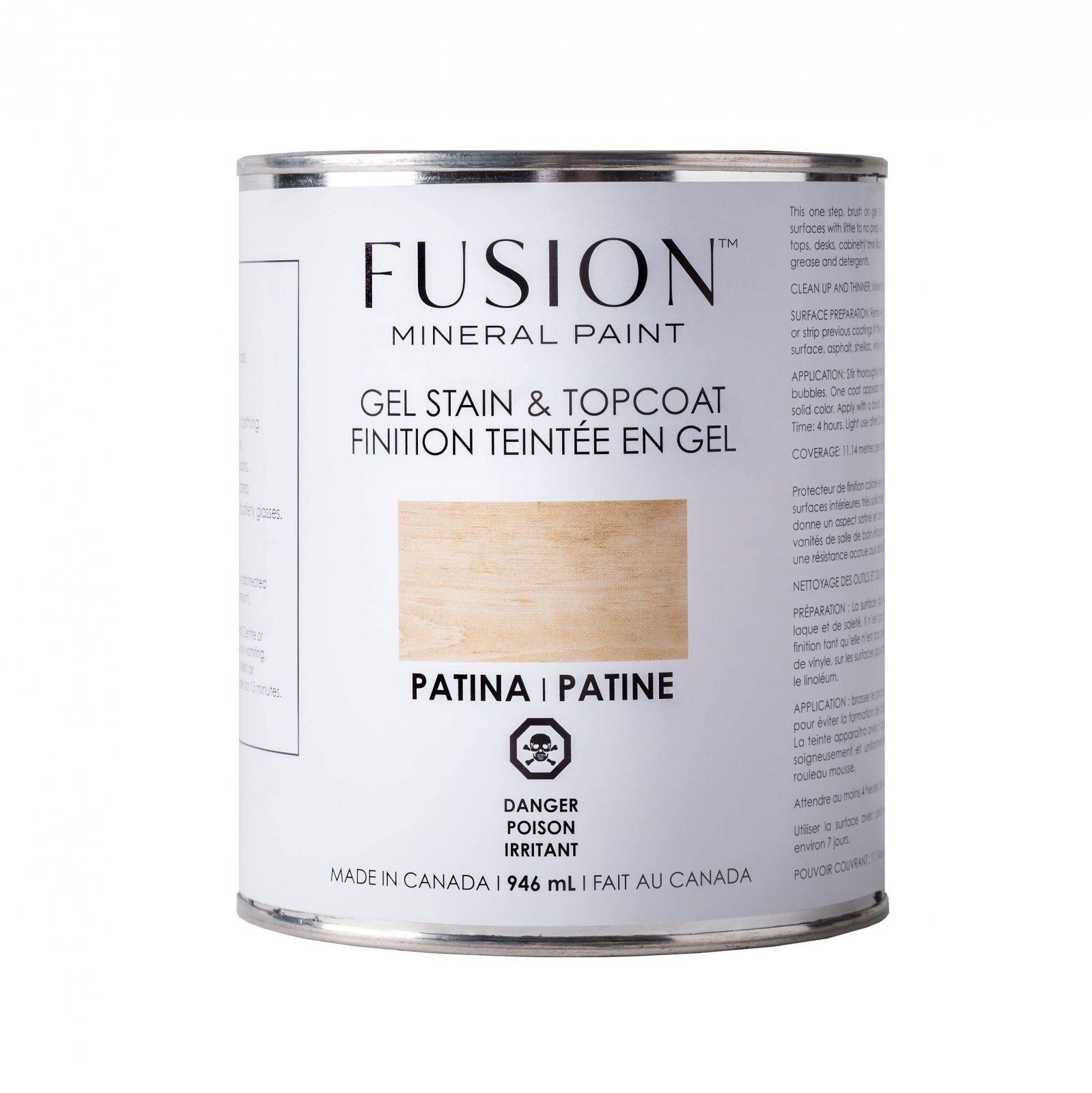 Gel Stain & Topcoat Patina Fusion Mineral Paint