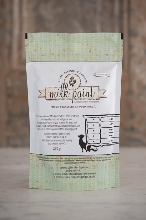 Grain Sack Miss Mustard Seed Milk Paint 1 Qt