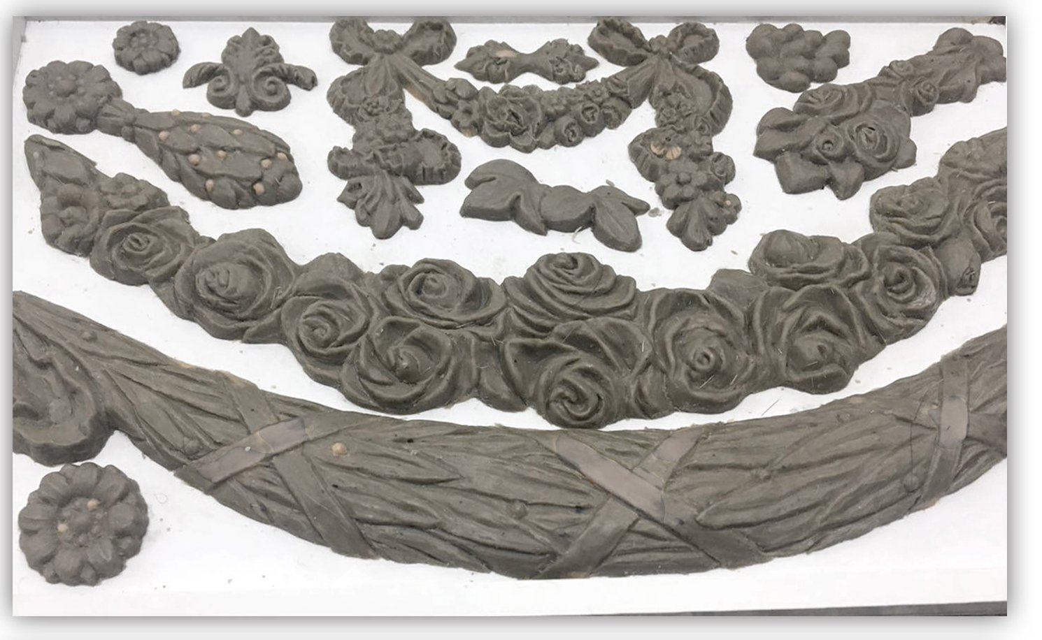 Swags 6x10 Decor Moulds