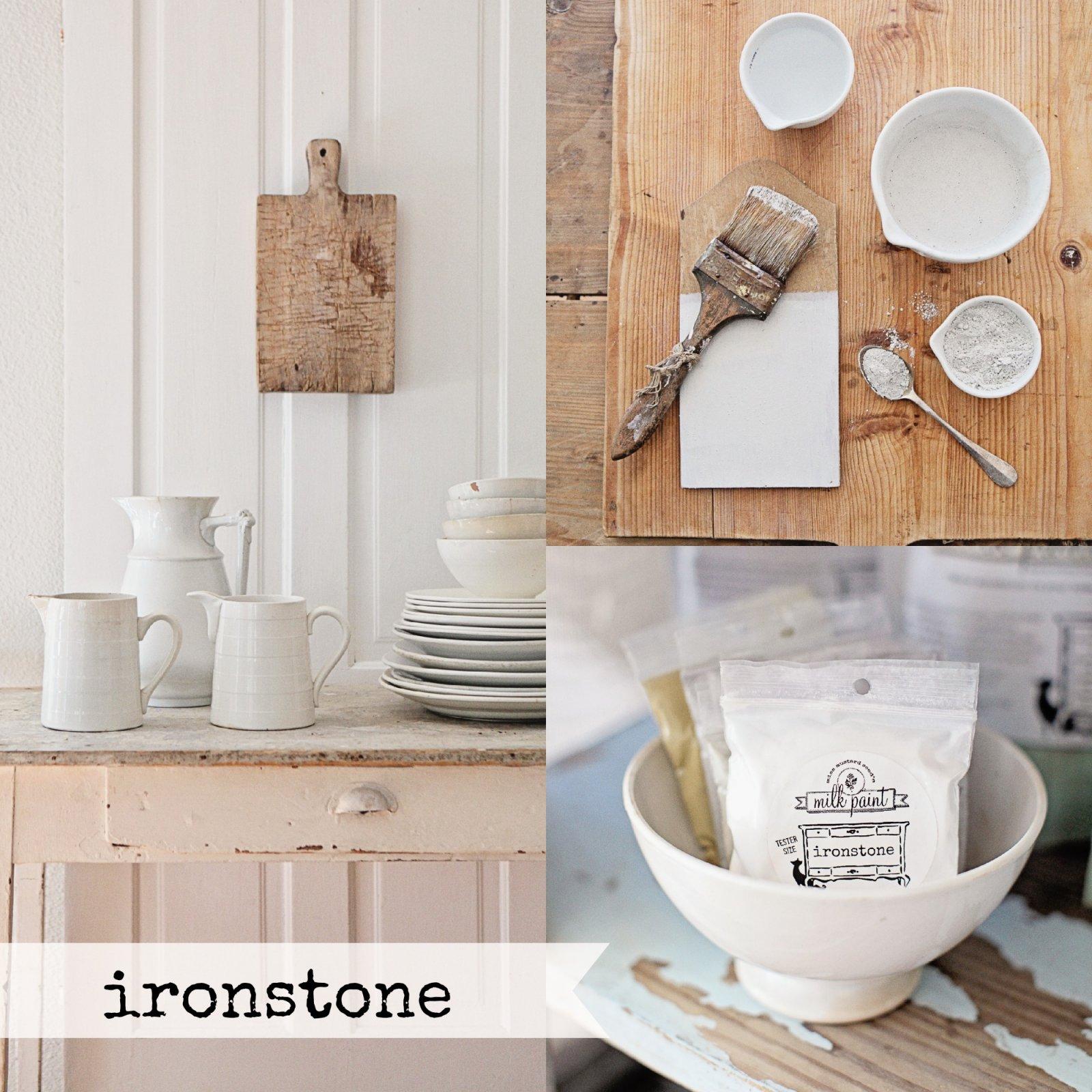 Ironstone Miss Mustard Seed Milk Paint 2 Qt