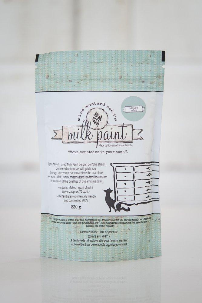 Layla's Mint Miss Mustard Seed Milk Paint 1 Qt