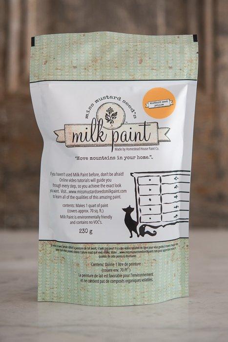 Mustard Seed Yellow Miss Mustard Seed Milk Paint 1 Qt