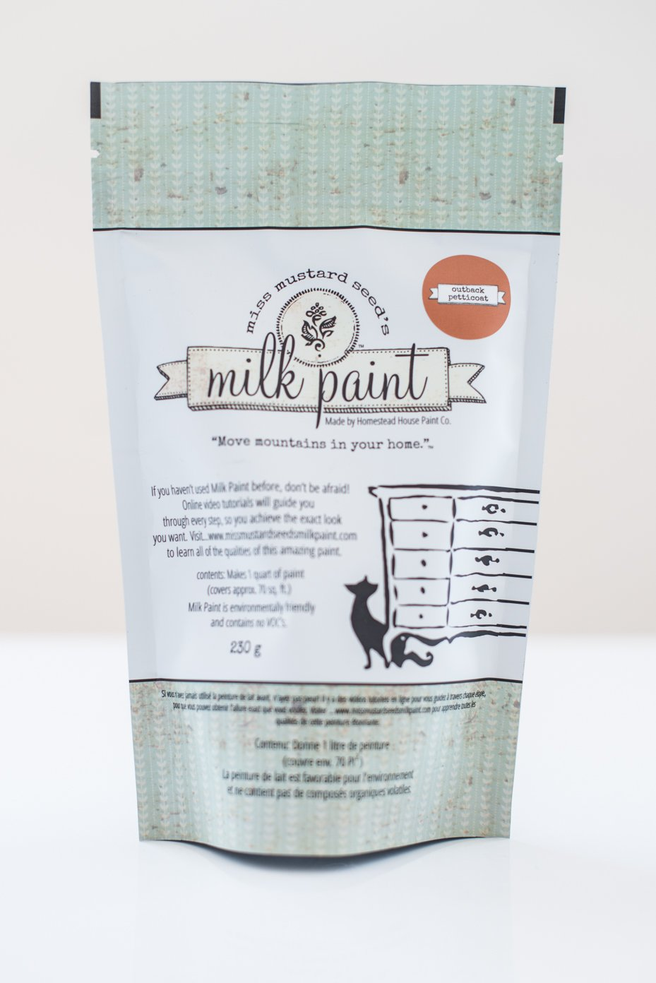 Outback Petticoat Miss Mustard Seed Milk Paint 1 Qt