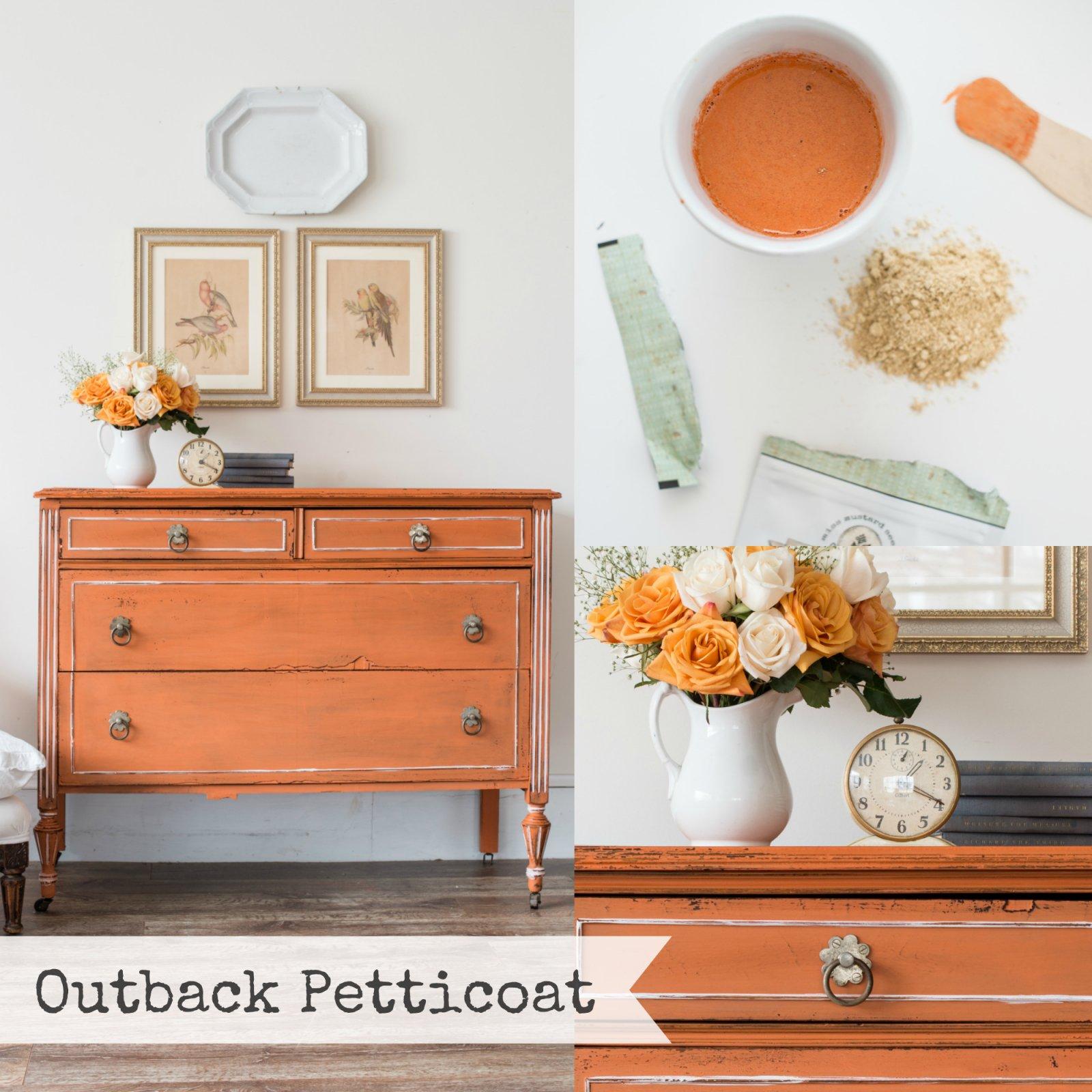 Outback Petticoat Miss Mustard Seed Milk Paint 2 Qt