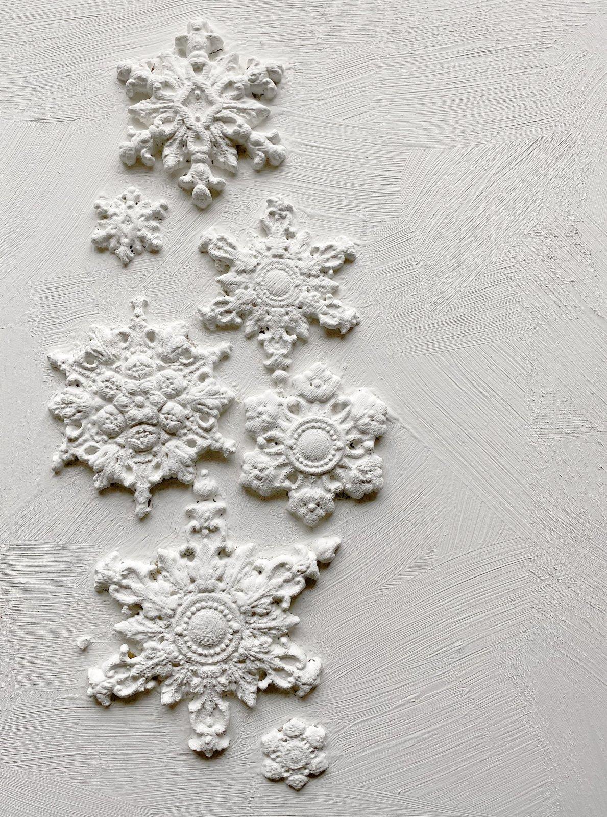 Snowflakes 6x10 IOD Moulds