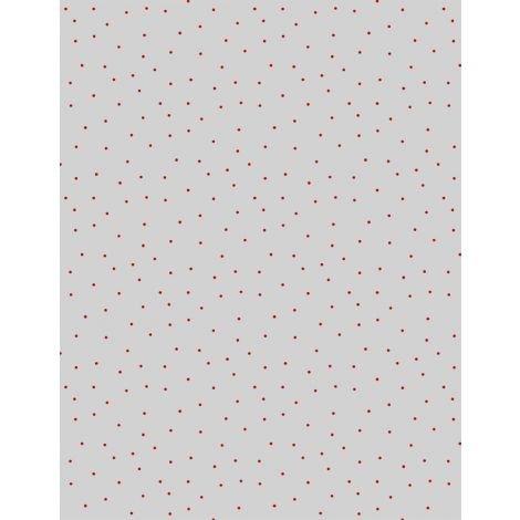 Grey/Red Pindots