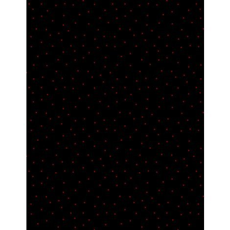 Black/Red Pindots
