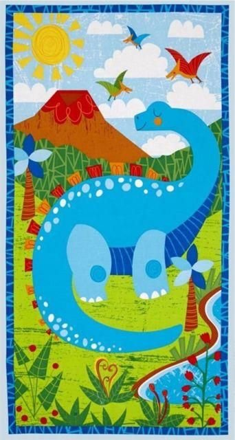 Dandy Dino Panel