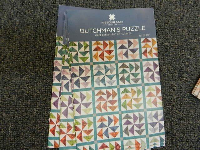 Dutchman's Puzzle Pattern