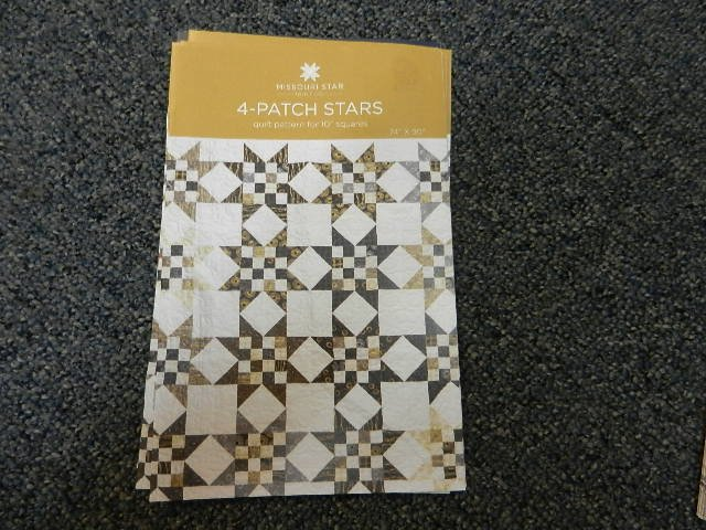 4 Patch Stars Pattern