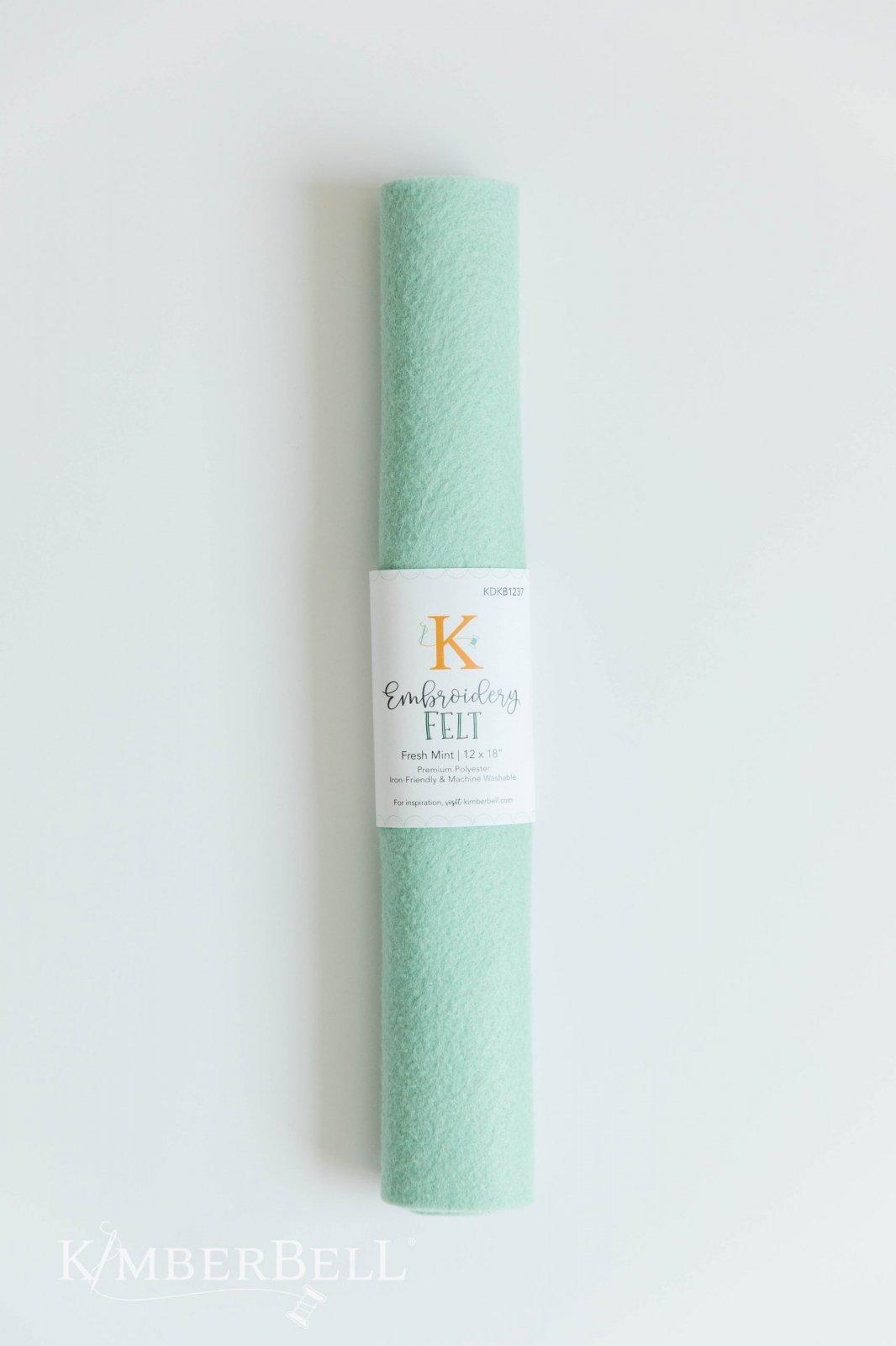 Embroidery Felt - Mint - Kimberbell