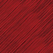 Loralie Quirky Bias Stripe Red/Black