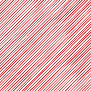 Loralie Quirky Bias Stripe Red/White