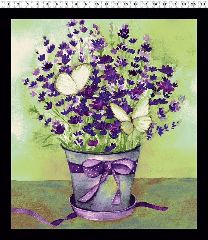 Sweet Lavender Panel