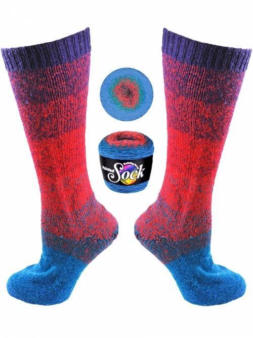 Painted Sock #106 Monteverde