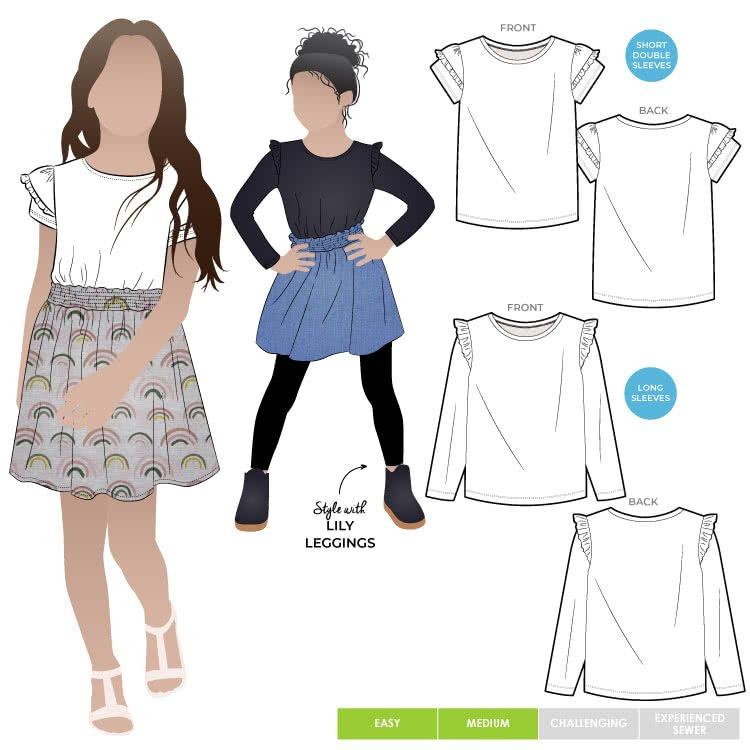 Style Arc Kids Amalia Knit T