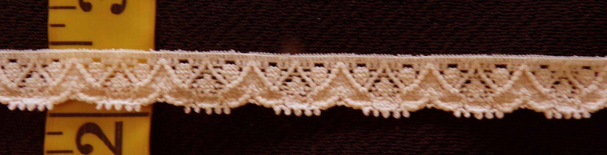 1/2 Beige Stretch lace (BESL0503)