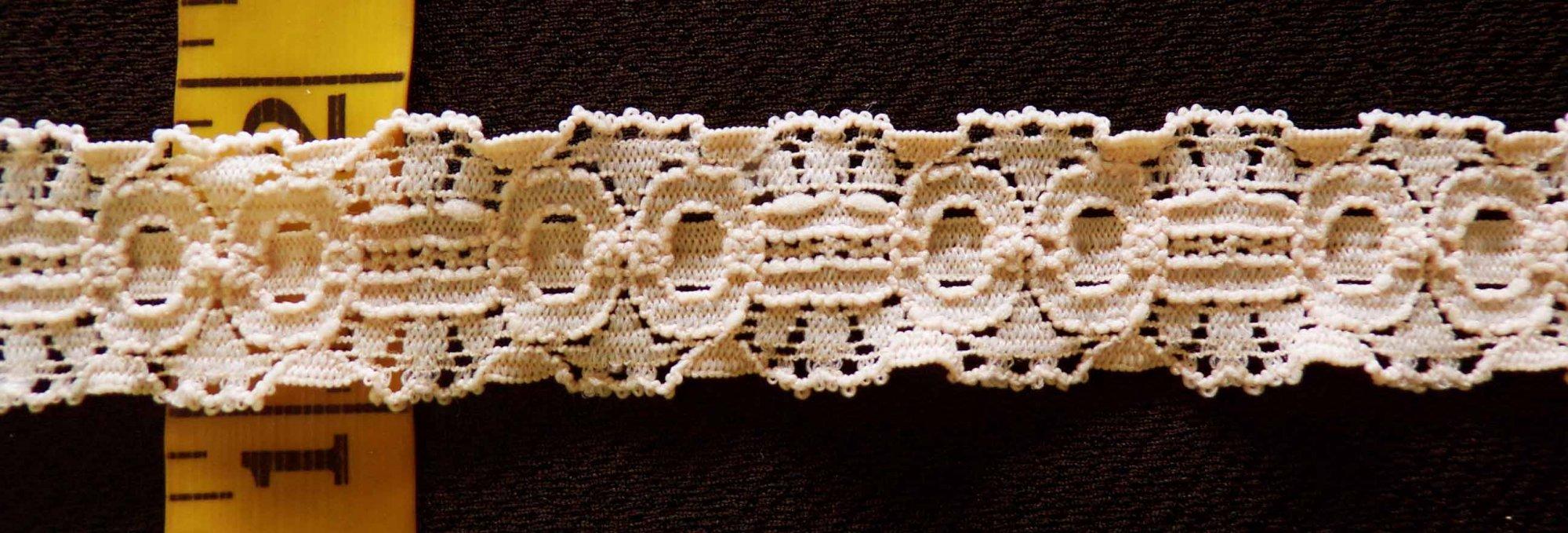 3/4 Beige Stretch lace (BGSL179)