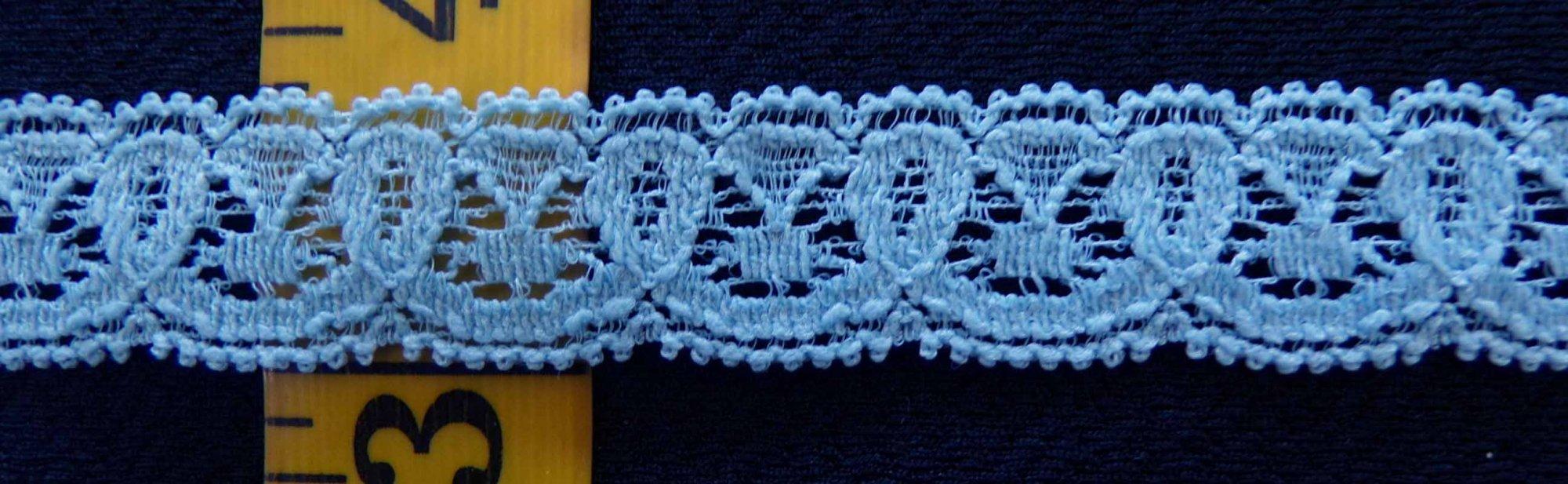 5/8 Blue stretch lace (BLSL0582)
