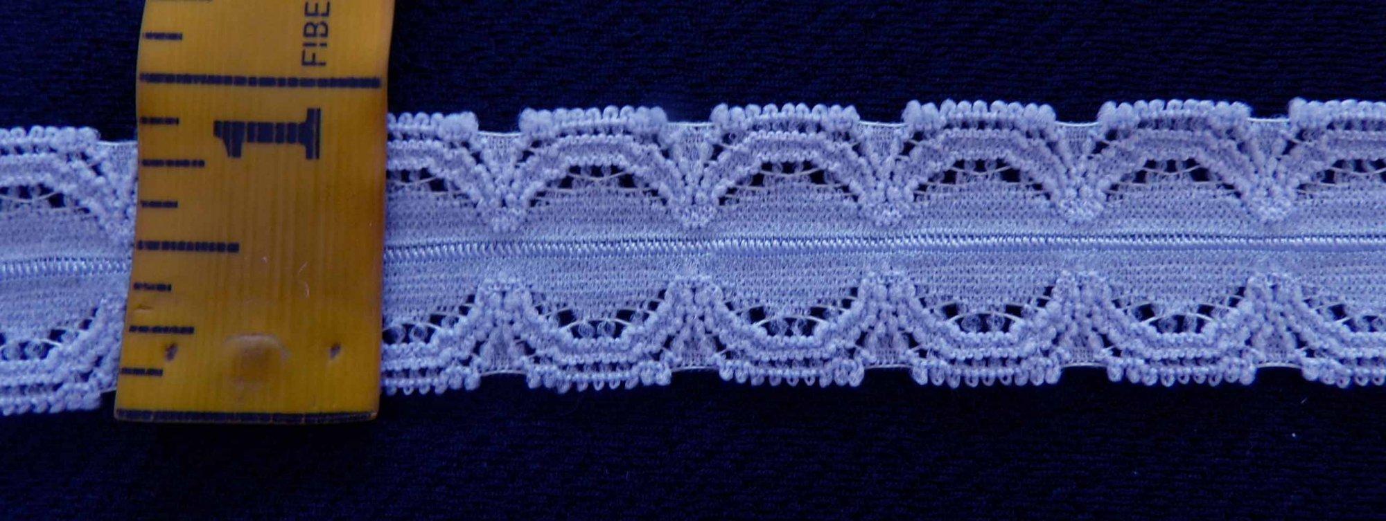7/8 Blue Stretch lace (BLSL078)