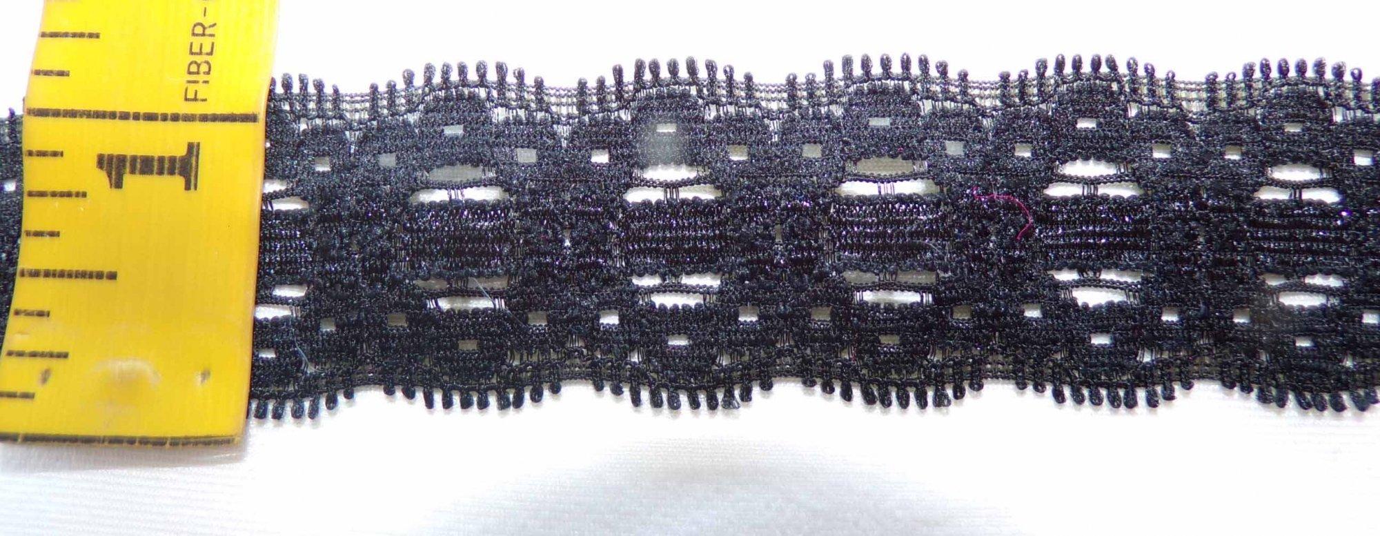 1 Black Stretch lace (BSL834)