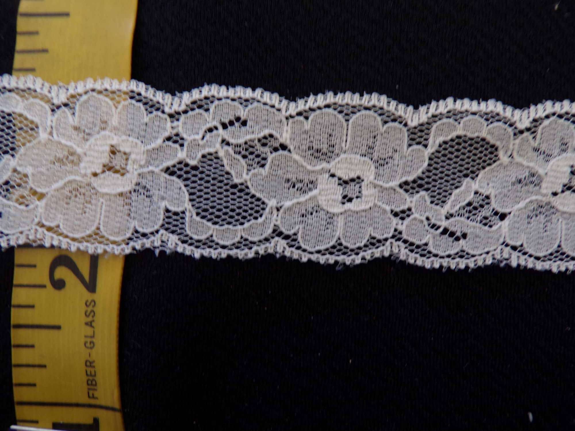 1 1/4  Rigid Lace - Beige