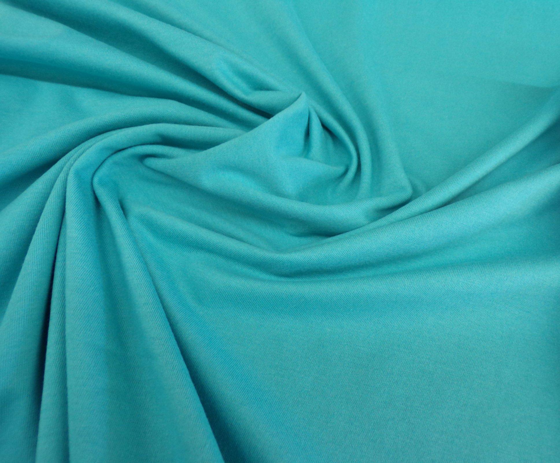 Cotton Jersey - Dark Aqua