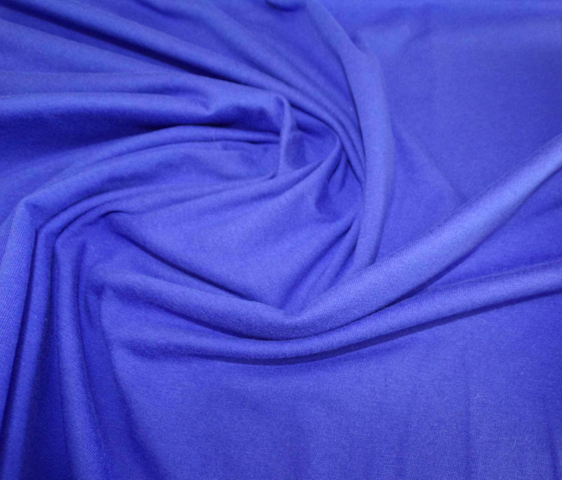 Cotton Jersey - Bright Purpley Blue