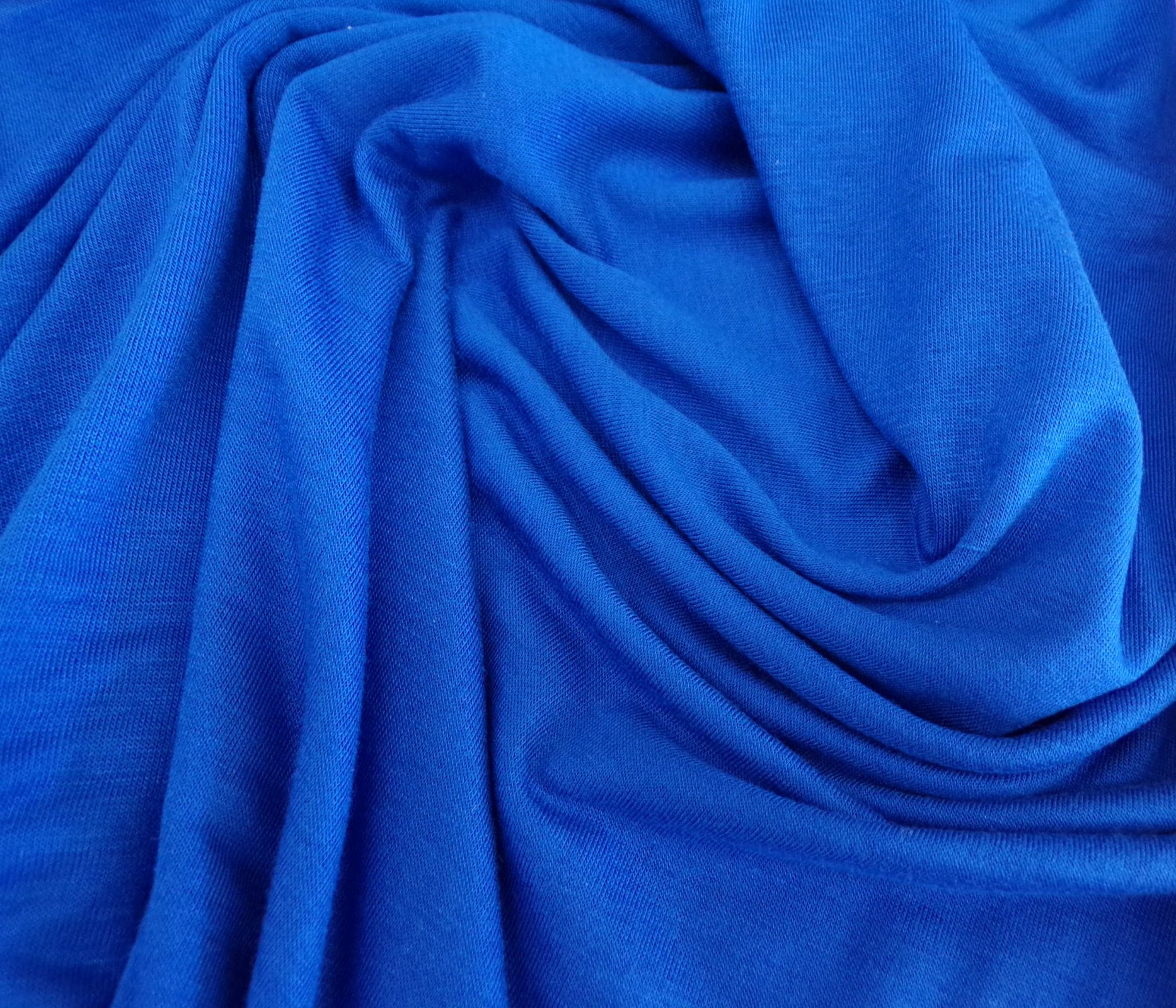 Cotton Jersey - Bright Blue