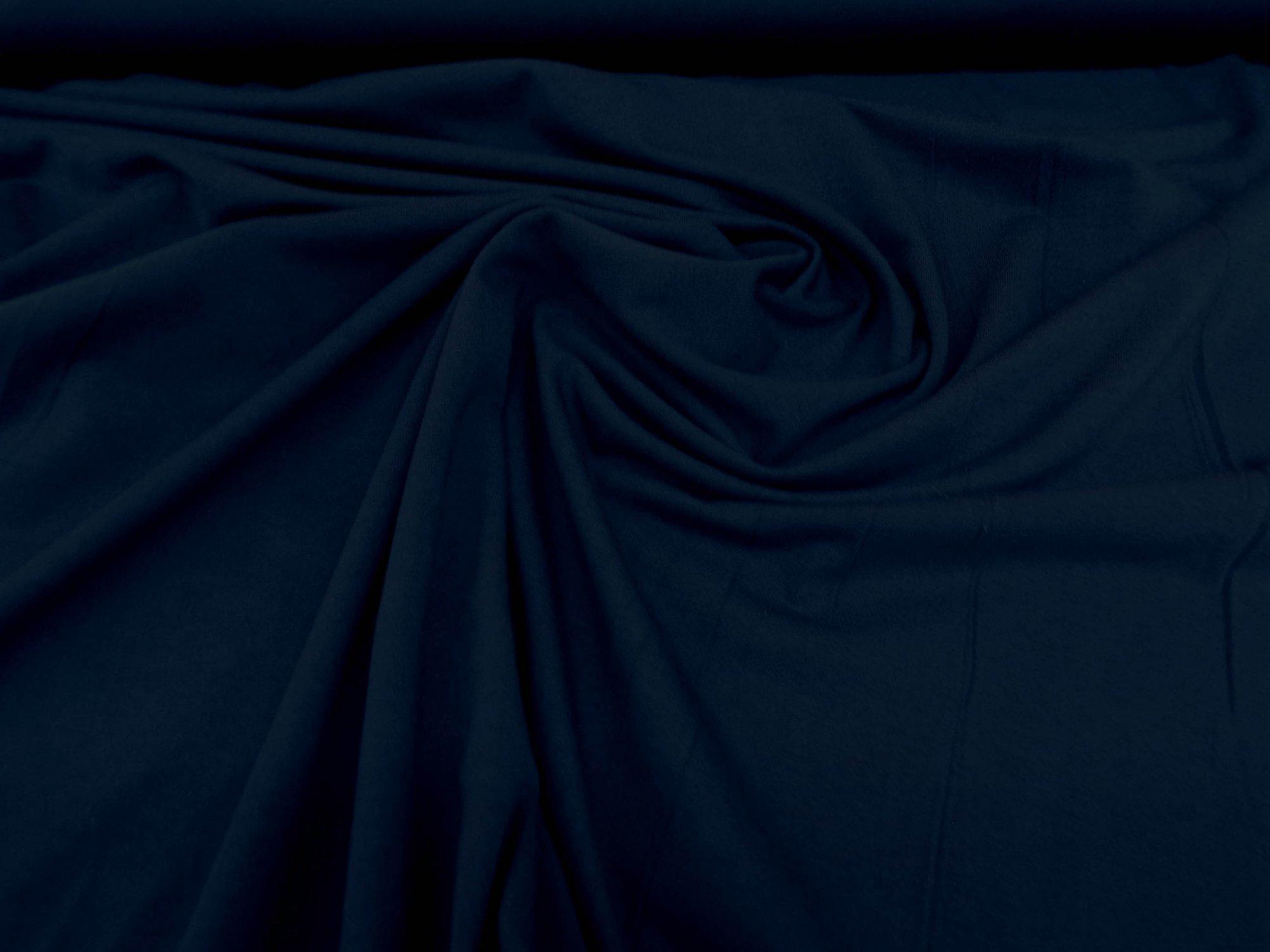 Cotton Jersey - Navy Blue - 5 oz