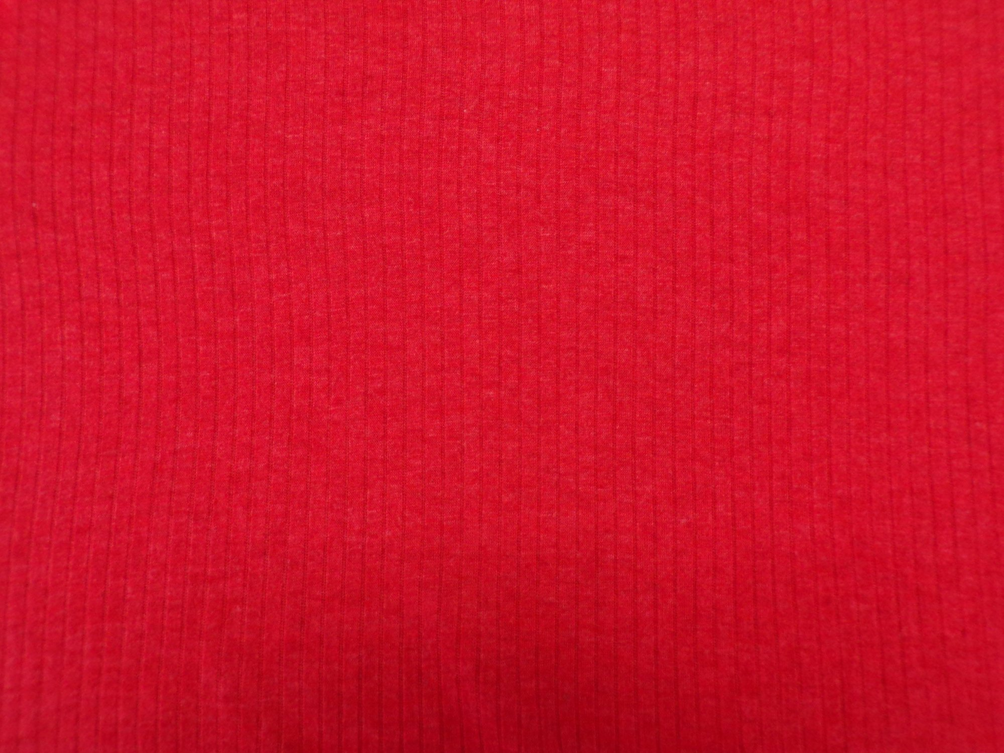 Cotton Needleout Jersey - Bright Rust