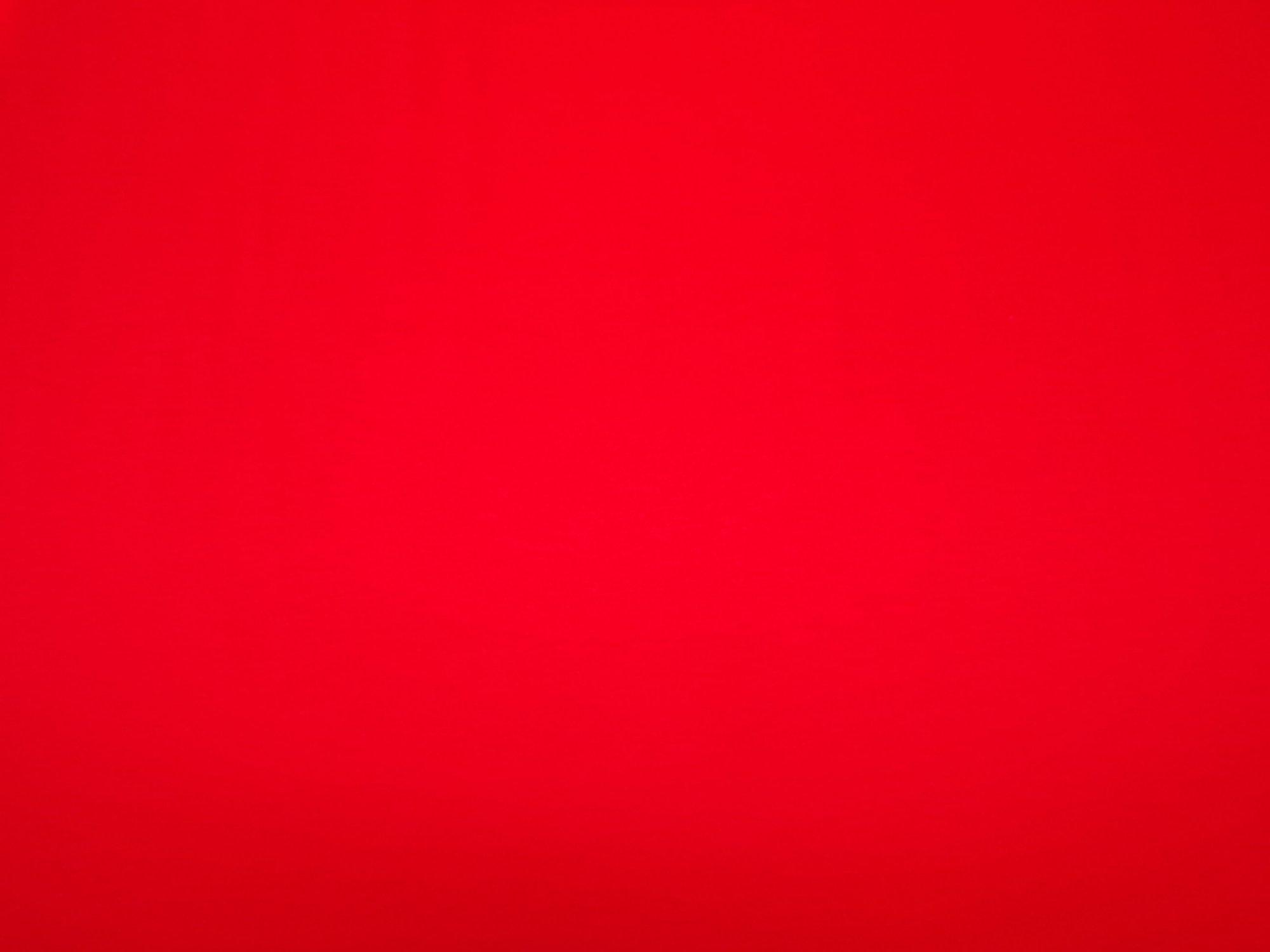 Cotton Jersey - Red Orange