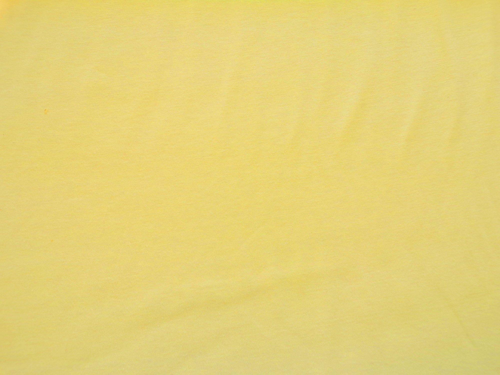 Cotton Jersey - Yellow